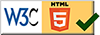 W3C HTML 5 Verified Site